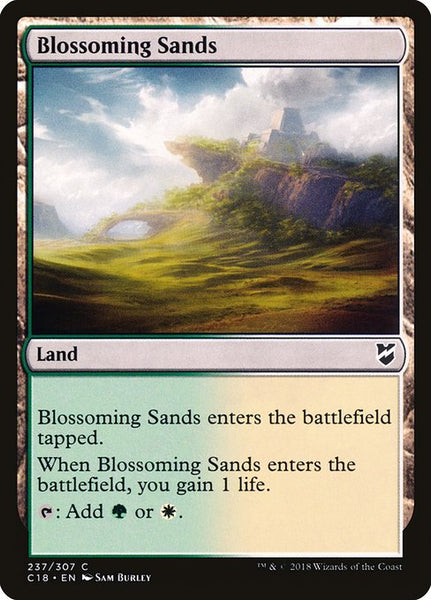 Blossoming Sands [C18]