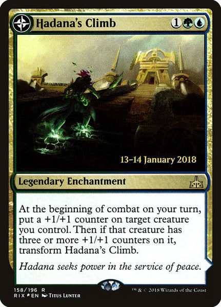 Hadana's Climb // Winged Temple of Orazca [PRIX][Foil]