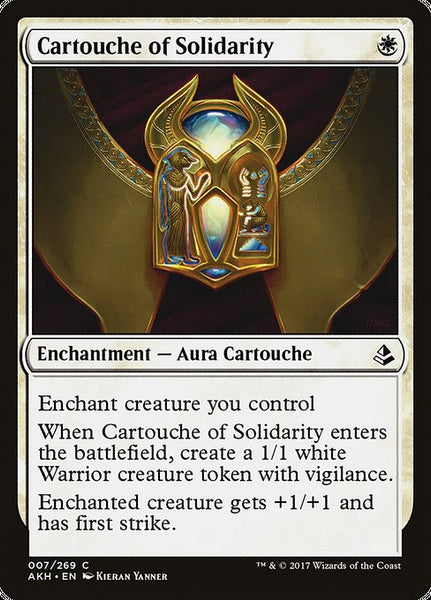 Cartouche of Solidarity [AKH][Foil]