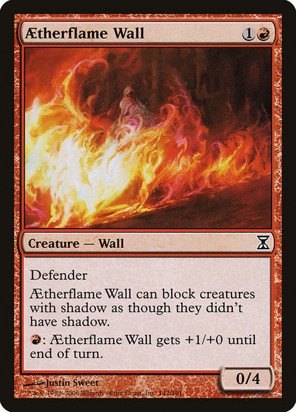Aetherflame Wall [TSP][Foil]