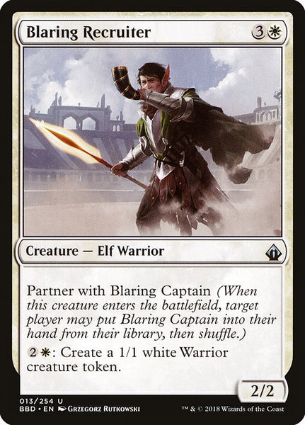 Blaring Recruiter [BBD]