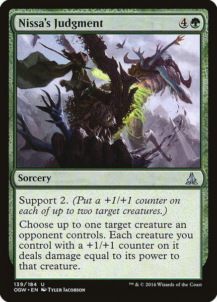 Nissa's Judgment [OGW]