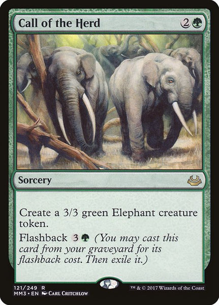 Call of the Herd [MM3][Foil]