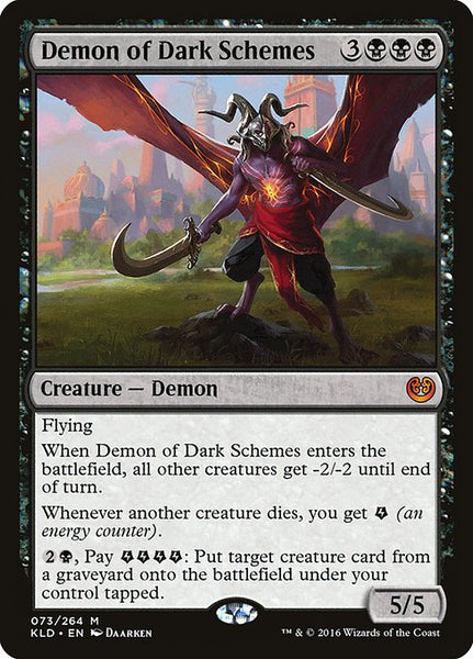 Demon of Dark Schemes [KLD]