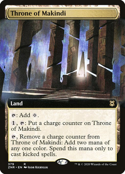 Throne of Makindi [ZNR] [Extended Art]