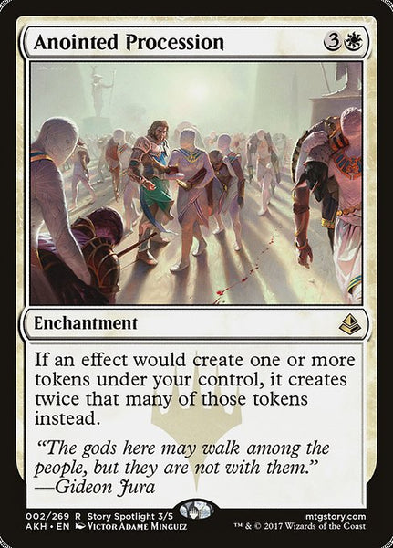Anointed Procession [AKH][Foil]