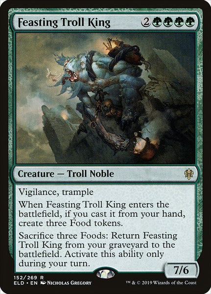 Feasting Troll King [ELD]