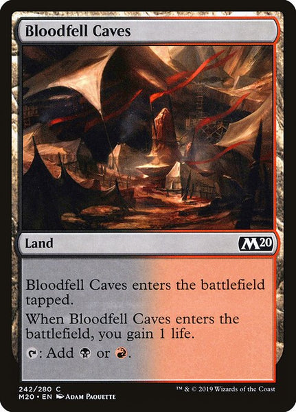 Bloodfell Caves [M20][Foil]