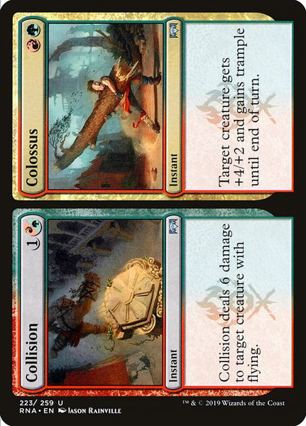 Collision // Colossus [RNA][Foil]