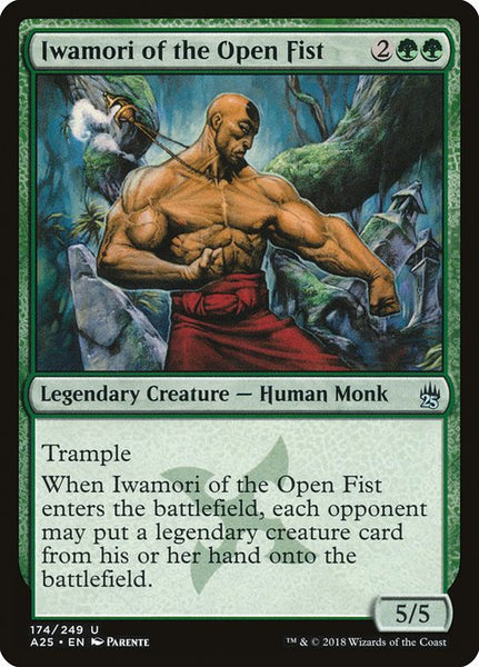 Iwamori of the Open Fist [A25]