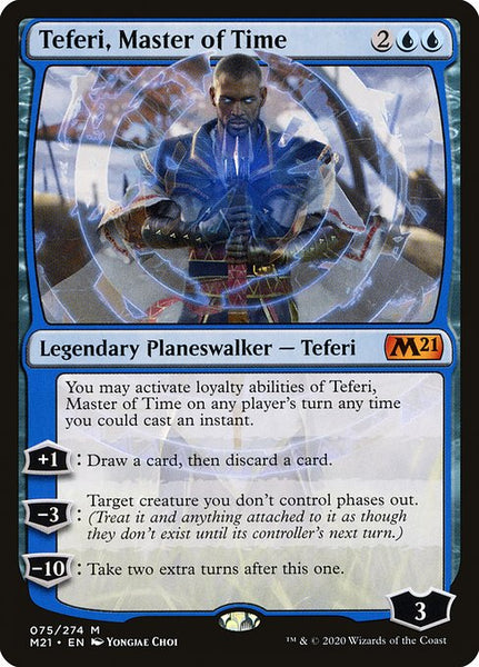Teferi, Master of Time [M21][75]