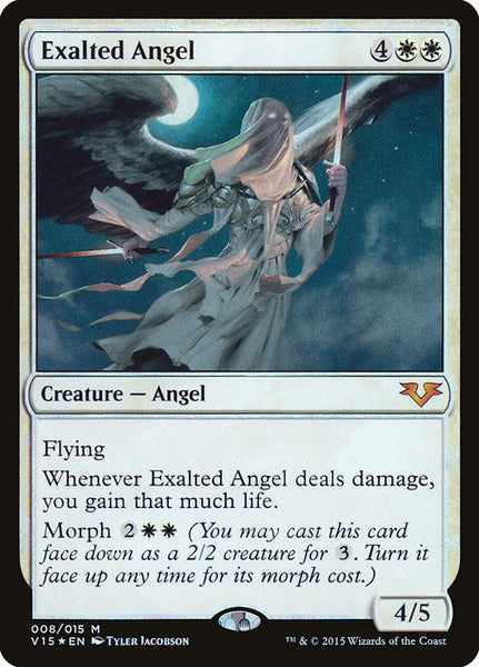 Exalted Angel [V15][Foil]