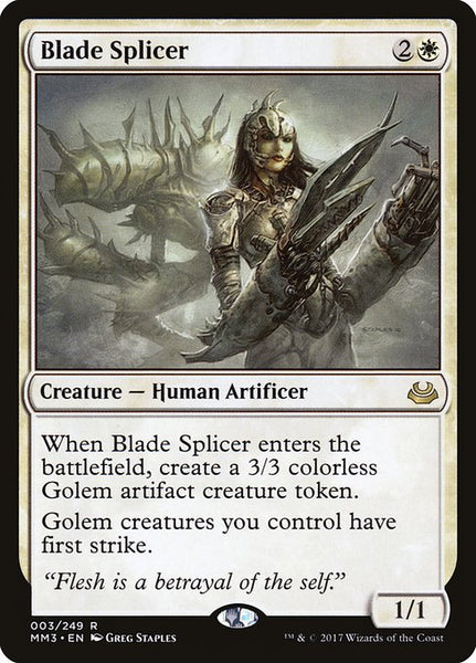Blade Splicer [MM3][Foil]