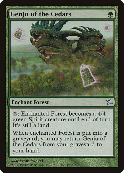 Genju of the Cedars [BOK][Foil]
