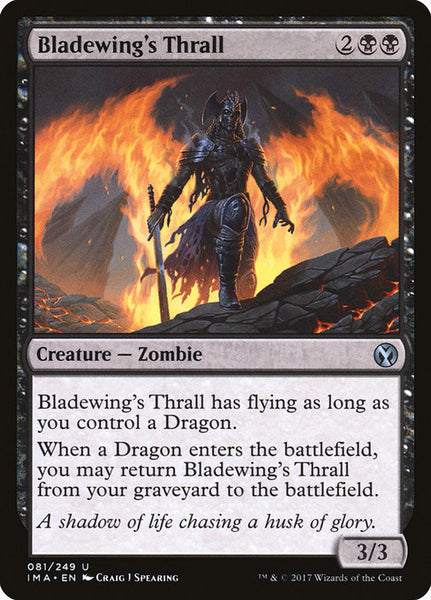 Bladewing's Thrall [IMA][Foil]