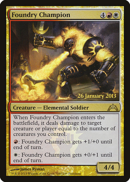 Foundry Champion [PGTC][Foil]