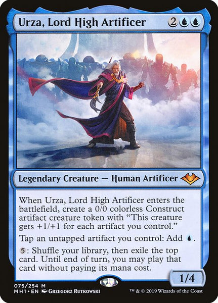 Urza, Lord High Artificer [MH1]