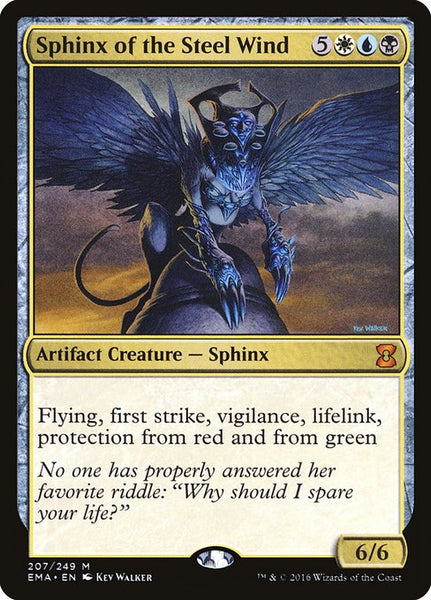 Sphinx of the Steel Wind [EMA]