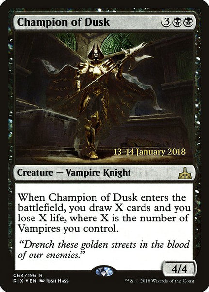 Champion of Dusk [PRIX][Foil]