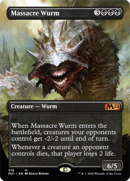 Massacre Wurm [M21] [Borderless]