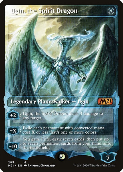 Ugin, the Spirit Dragon [M21] [Showcase]
