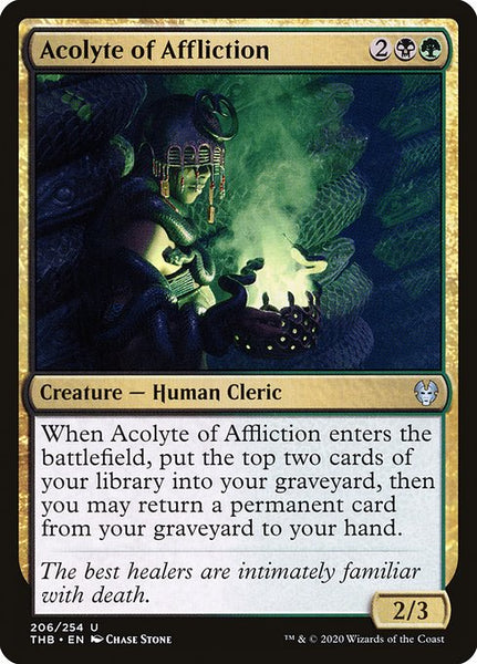 Acolyte of Affliction [THB][Foil]