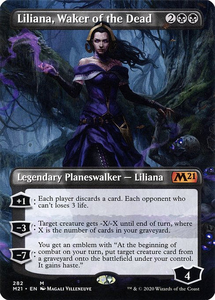 Liliana, Waker of the Dead [M21] [Borderless]