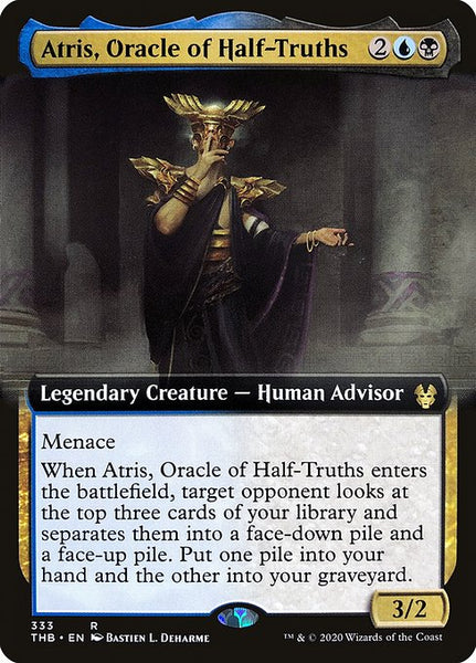 Atris, Oracle of Half-Truths [THB][Foil][Extended Art]