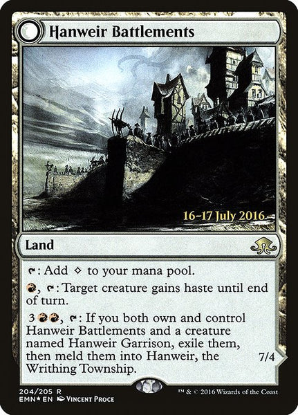 Hanweir Battlements [PEMN][Foil]