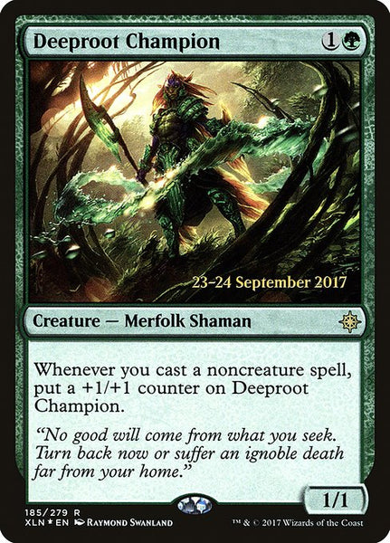 Deeproot Champion [PXLN][Foil]