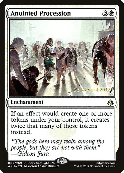 Anointed Procession [PAKH][Foil]