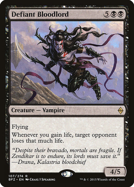 Defiant Bloodlord [BFZ]