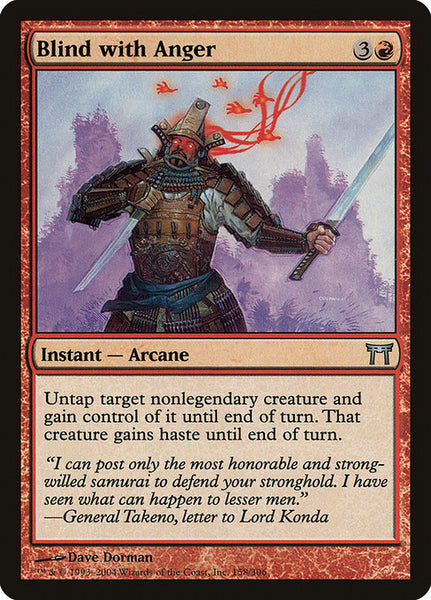 Blind with Anger [CHK][Foil]