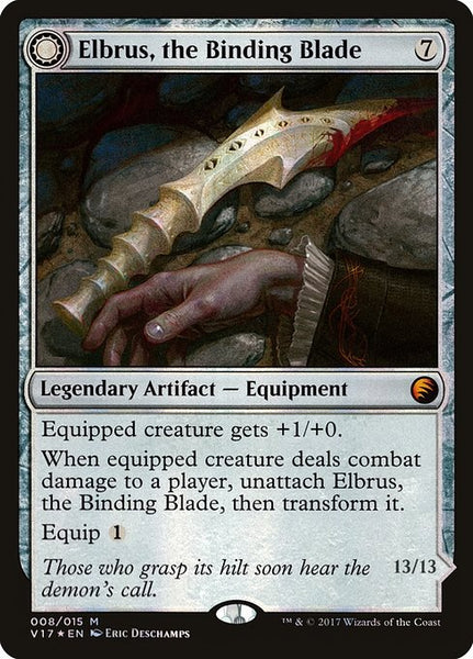 Elbrus, the Binding Blade // Withengar Unbound [V17][Foil]