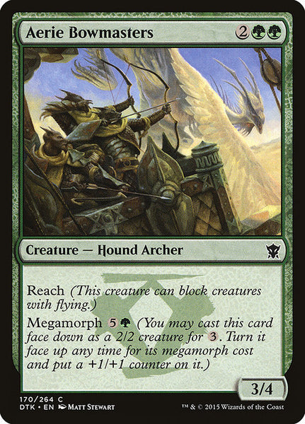 Aerie Bowmasters [DTK][Foil]