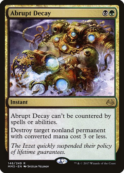 Abrupt Decay [MM3]