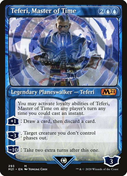 Teferi, Master of Time [M21][293] [Showcase]