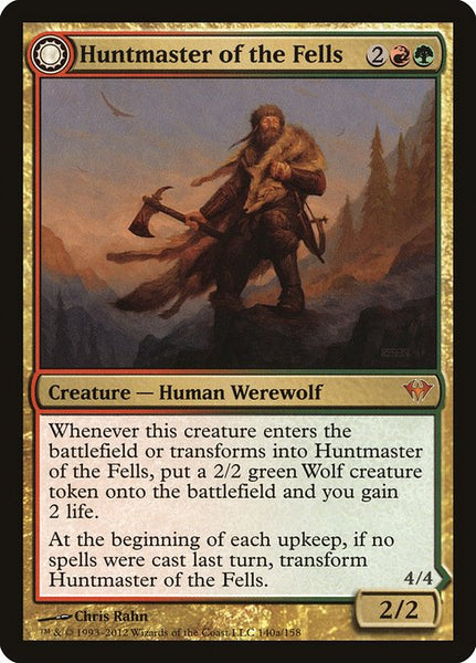 Huntmaster of the Fells // Ravager of the Fells [DKA]