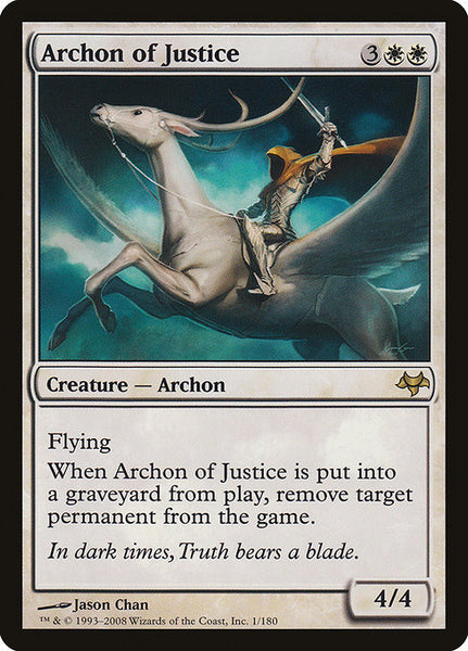 Archon of Justice [EVE][Foil]
