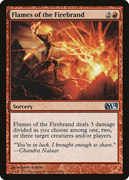 Flames of the Firebrand [M14]