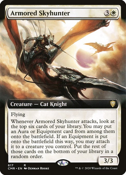 Armored Skyhunter [CMR][Extended Art]