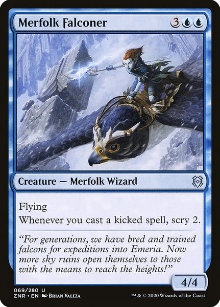 Merfolk Falconer [ZNR]