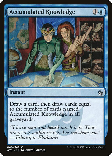 Accumulated Knowledge [A25][Foil]