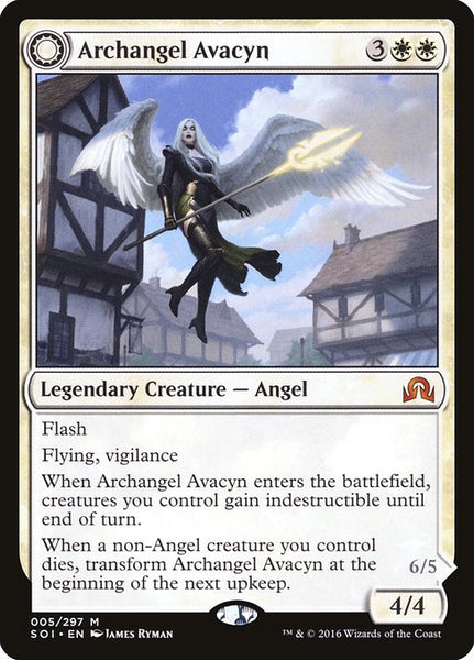 Archangel Avacyn // Avacyn, the Purifier [SOI][Foil]
