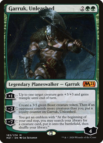 Garruk, Unleashed [M21]