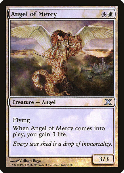 Angel of Mercy [10E][Foil]