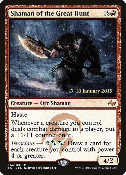 Shaman of the Great Hunt [PFRF][Foil]
