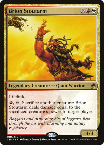 Brion Stoutarm [A25][Foil]