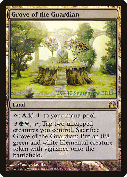 Grove of the Guardian [PRTR][Foil]