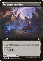 Hagra Mauling // Hagra Broodpit [ZNR][Foil][Extended Art]